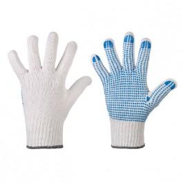 Strick-Handschuhe genopt