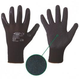 Strickhandschuhe FINEGRIP-schwarz