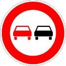 VZ-276 Überholverbot für Kraftfahrzeuge aller Art