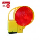 Baustellen-Warnleuchte NISSEN-BAKO-LED rot