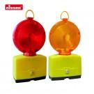 Baustellen-Warnleuchte NISSEN-LED mit Halter